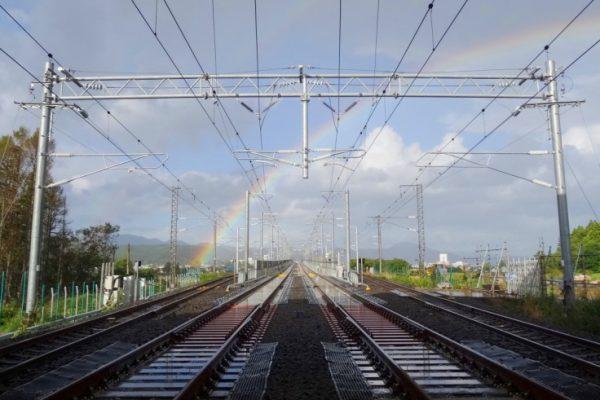 北海道新幹線 電力設備 イメージ
