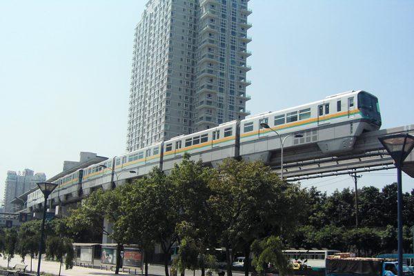 重慶市モノレール建設計画コンサルティング業務 イメージ
