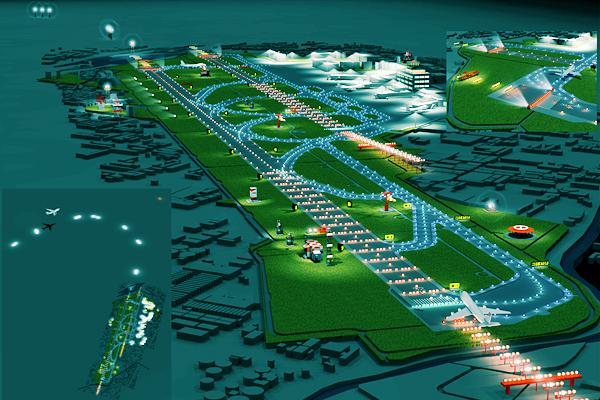 東京国際空港航空灯火・電力監視制御装置更新基本設計・実施設計 イメージ