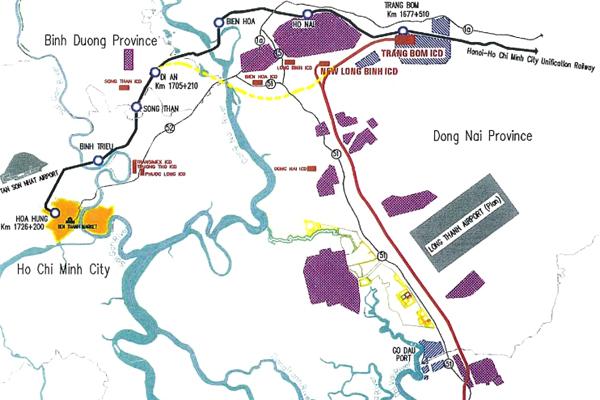 ベトナム南部物流効率化を目的とする鉄道貨物輸送システム建設計画調査 イメージ