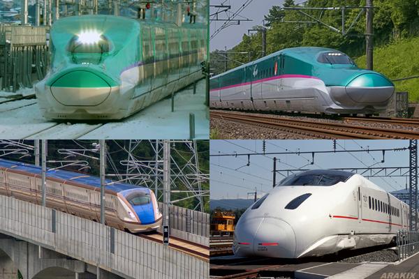 整備新幹線(北海道・東北・北陸・九州) イメージ